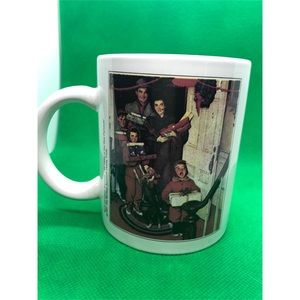 Other - Norman Rockwell Coffee Mug